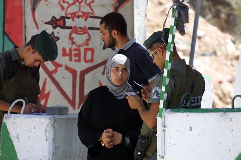 Israëlische controlepost © iStockphoto.com/ichinterlang