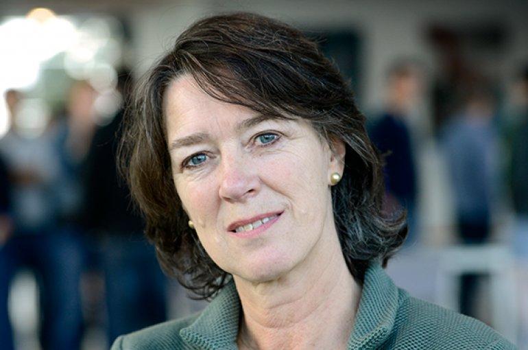 Prof. dr. Franciska de Jong - foto: Eric Brinkhorst
