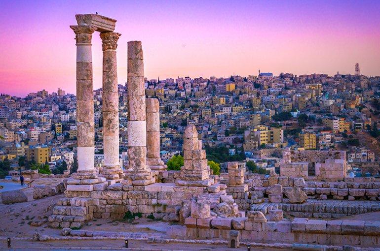 Amman Jordanië © iStockphoto.com