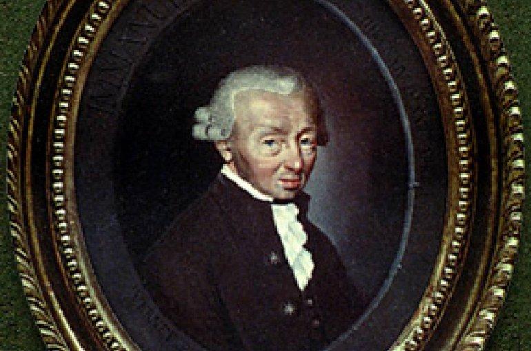 Immanuel Kant (1724–1804) Source: Wikimedia Commons