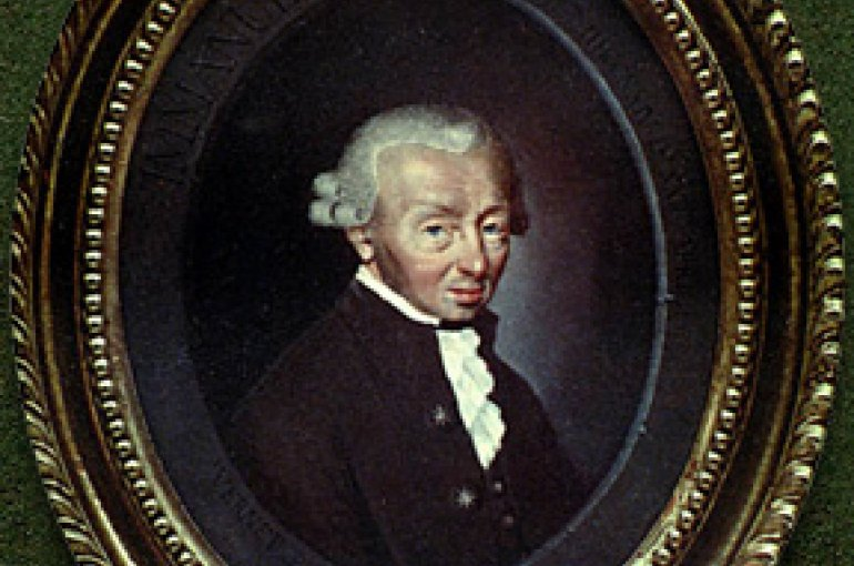 Immanuel Kant (1724–1804) Source: Wikimedia Commons
