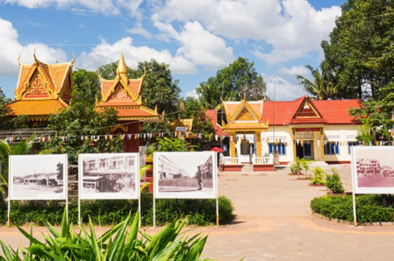 Killing field site in Siem Reap, Cambodia © iStockphoto.com/Artaporn Puthikampol