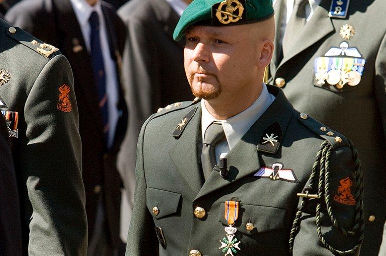 Marco Kroon op 29 mei 2009 op het Binnenhof. Bron: Wikimedia/Ruud Mol
