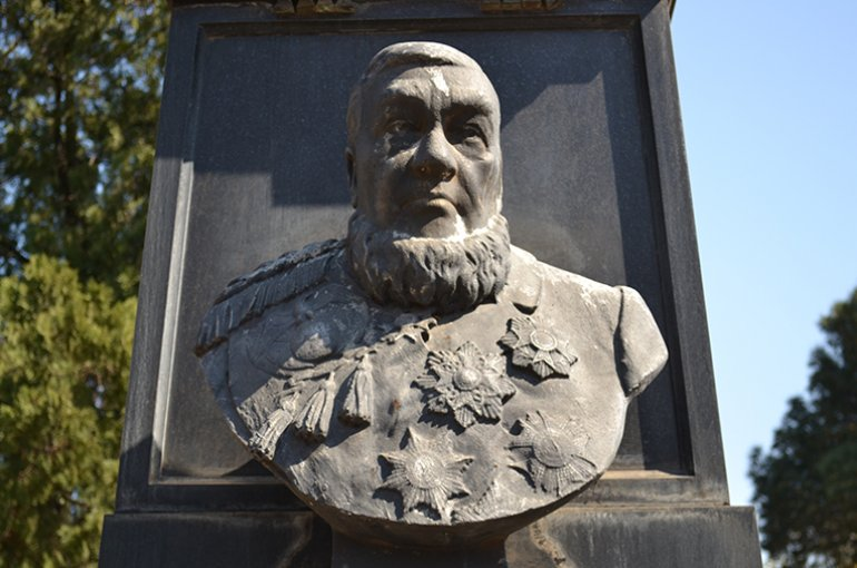 Paul Kruger Church Street Cemetery in Pretoria. Bron: Wikimedia/PHParsons