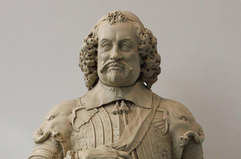 Het kunststoffen borstbeeld van Johan Maurits van Nassau. Bron: Wikimedia/Beko