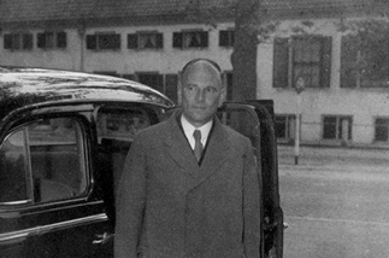 Jonkheer Marinus van der Goes van Naters (1900-2005). Bron: Wikemedia Commons/Collectie SPAARNESTAD PHOTO/NA/Anefo/Raucamp