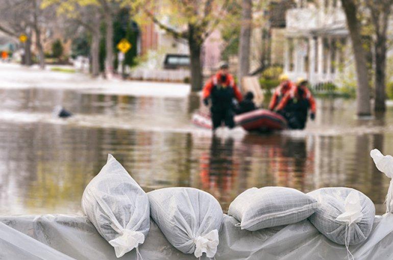 Overstroming © iStockphoto.com