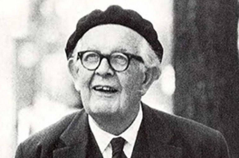 Jean Piaget (1896–1980) Bron: Wikimedia Commons