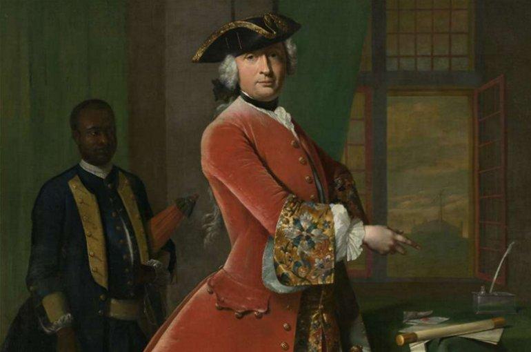 Portret van Jan Pranger, Frans van der Mijn, 1742 - rijksmuseum.nl