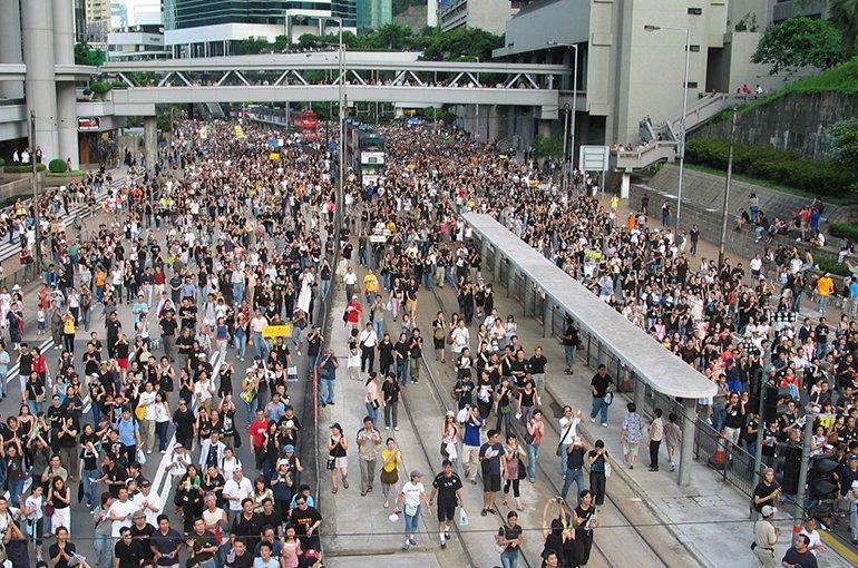 Hong Kong 1 July Protests