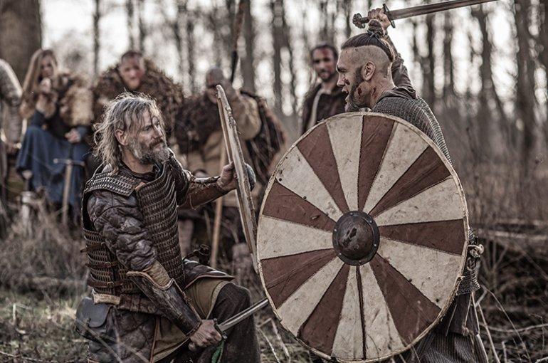 Re-enactment van de Middeleeuwen © iStockphoto.com