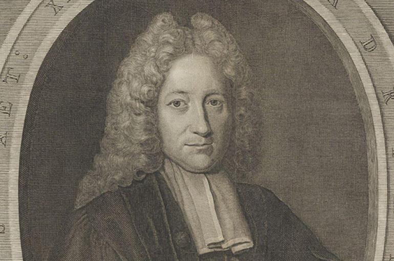 Adrianus Relandus (1676-1718). Bron: Wikimedia Commons/Geheugen van Nederland