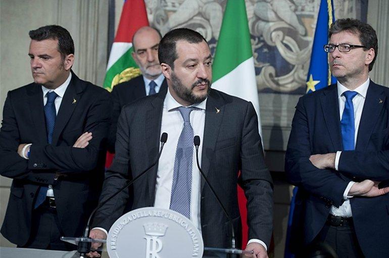 Matteo Salvini in 2018. Bron: Wikimedia/Presidenza della Repubblica