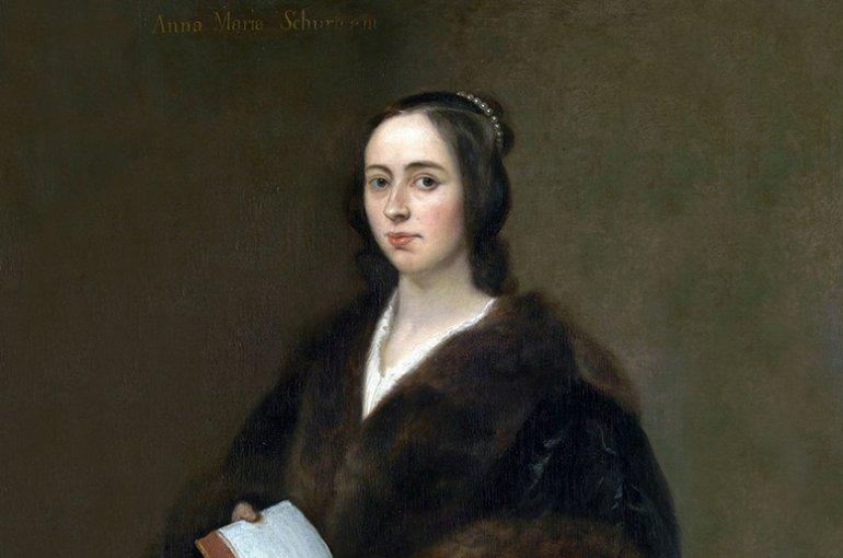Portret Anna Maria van Schurman door Jan Lievens (1649)