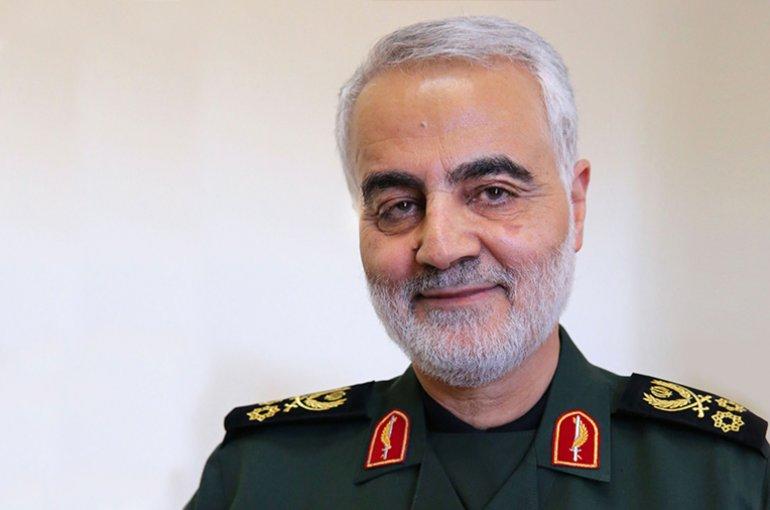 Qasem Soleimani. Bron: Wikimedia