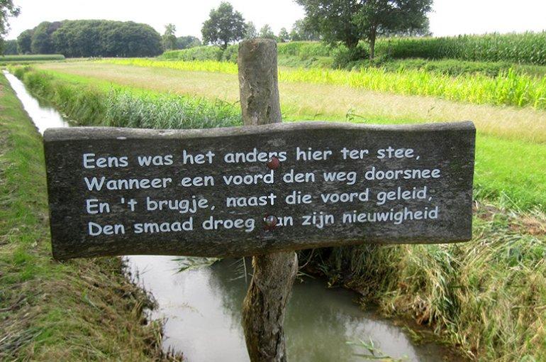 De hoofdige boer van A.C.W. Staring. Bron: straatpoezie.nl