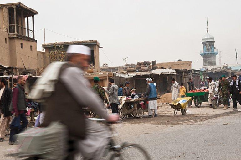 The Bazar in Kabul, Afghanistan © iStockphoto.com/MivPiv