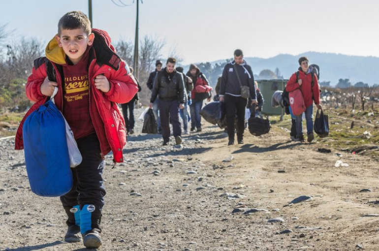 Vluchtelingen © iStockphoto.com/BalkansCat