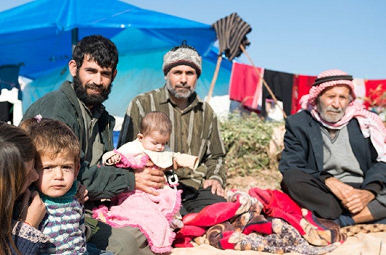 Syrische vluchtelingen © iStockphoto.com/Joel Carillet