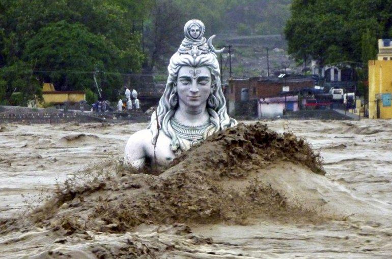 Overstroming Nepal
