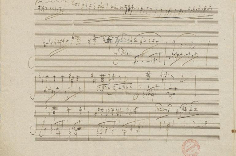 Beethoven piano concerto 3 cadence (Original score)