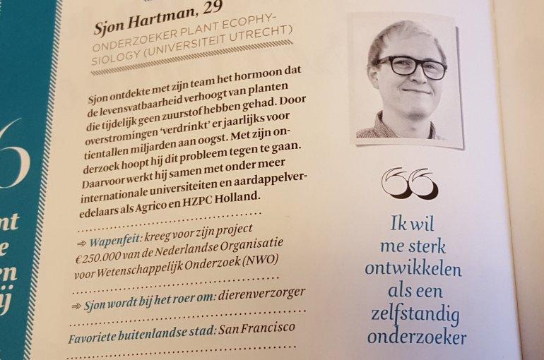 Sjon Hartman FD talentenspecial