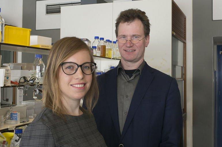 Tania Morán Luengo and Stefan Rüdiger from Utrecht University