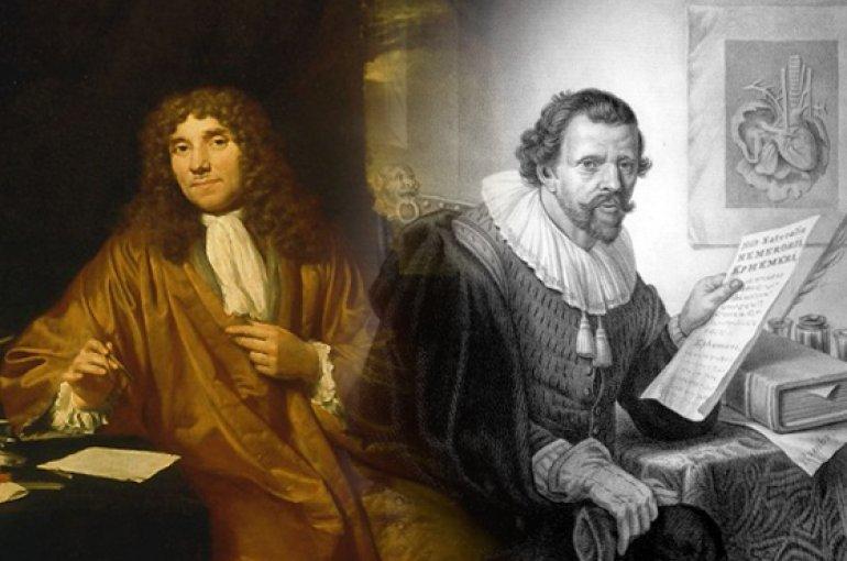 Antoni van Leeuwenhoek en Jan Swammerdam