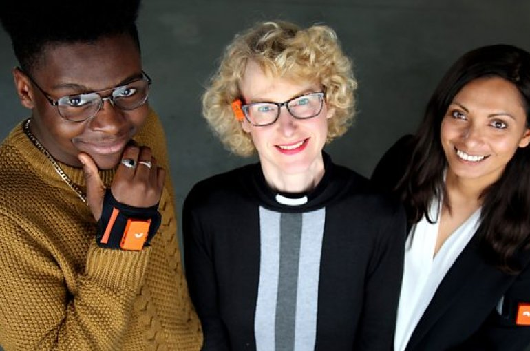 De drie deelnemers aan de BBC-documentaire 'A week without lying'