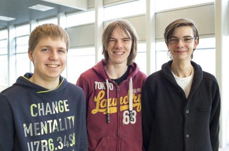 Utrechtse wiskundestudenten plaatsen zich voor wk for Timon de groot