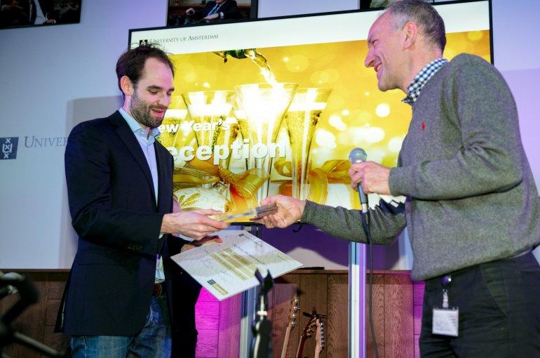 Florian Sniekers wint Joop Hartogprijs 2017