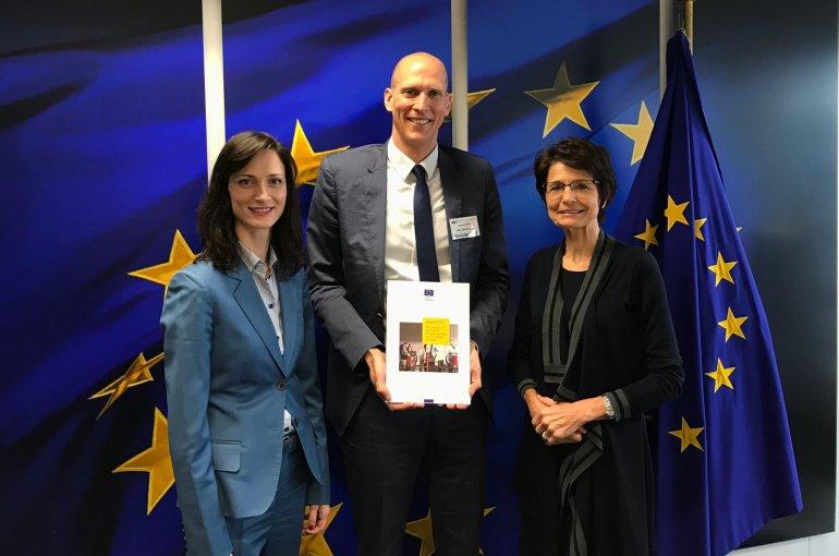 Maarten Goos bij de Europese Commissie