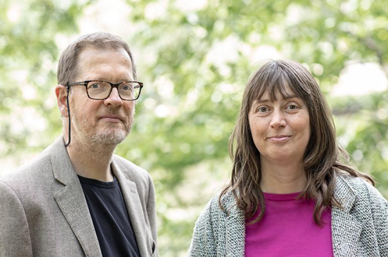 Kees van Deemter en Judith Masthoff (foto: Ed van Rijswijk)