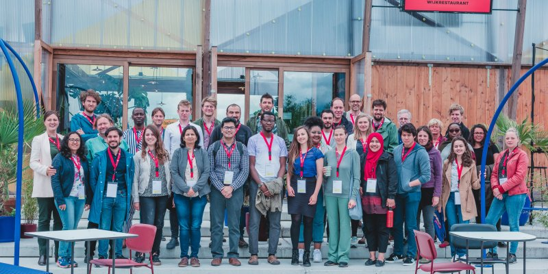 group photo of participants futuring for sustainability summer school 2019